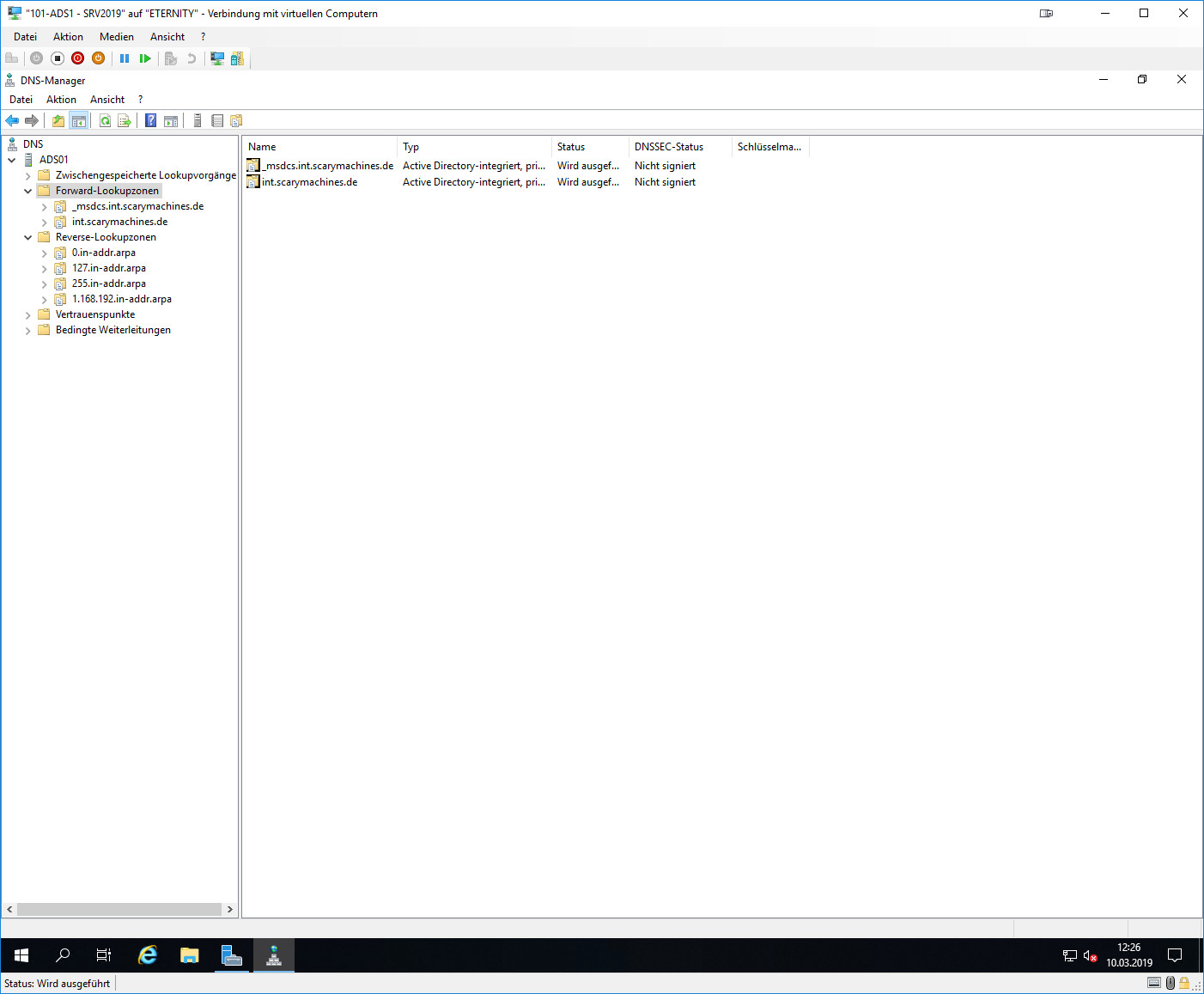 Windows DNS-Manager